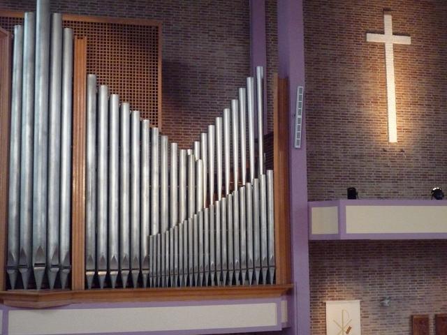 Seifert orgel immanuelkerk
